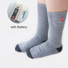 3.7V Smart Socks 2200mAh Battery Electric Heated Socks Keep Warming Cotton Socks for Winter Hosiery Perfect Gifts For Man Women(China)