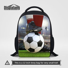 Dispalang Hot Sale Footballs Print Kindergarten Backpack Kids Mini School Bags Basketballs Rucksack Children Travel Shoulder Bag(China)