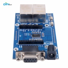 DIYmall UART Test Base Board Serial RS232 Port for HLK-RM04 WiFi Module TCP IP Ethernet Converter WAN LAN By DIY FZ2602