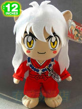 New arrival Inuyasha figure 30cm anime Kagome plush toy cute doll(China)