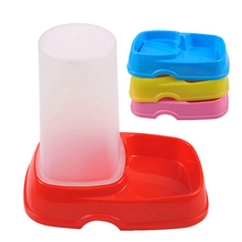 Wholesale Price Colorful Plastic Pet Automatic Food Feeders, JSF-Feeders-005