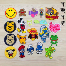 Factory direct sales cartoon cloth stickers decorative clothing patch patch can be sewn to iron a variety of optional(China)