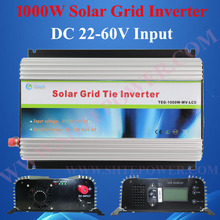 mppt solar charge controller inverter 1000w, mppt grid tie inverter, inverter grid tie 1000w(China)