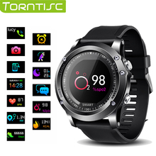 TORNTISC montre Smart watch T2 IP68 Étanche Fréquence Cardiaque moniteur de Tension Artérielle d'oxygène Smartwatch Sport En Plein Air Bluetooth bande à puce(China)