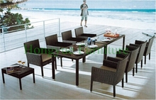 Outdoor wicker dining sets furniture manufacturer from China(China)