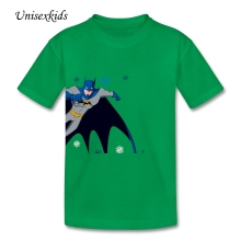 2017 New Toddler 100% Cotton Batman T-shirt Baby Boy Girl Graphic Tee Short Sleeve Children t Shirts Tops Wholesale Price