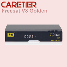 freesat V8 Golden DVB-S2/T2/C Satellite Cable Receiver IPTV, Youtube, DLNA, SAT2IP free shipping
