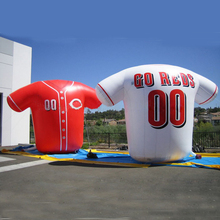 Giant Novelty Inflatable Sports Shirt /Inflatable Football Shirt for Advertising/Promption(China)