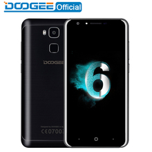 DOOGEE Y6 mobile phones 5.5Inch HD 2GB+16GB Fingerprint Android6.0 Dual SIM MTK6750 Qcta Core 13.0MP 3200mAH WCDMA LTE GSM GPS - Official Store store