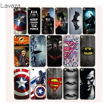 Lavaza 22af Bat man Captain America Hard Case Cover for Huawei p10 P6 P7 P8 P9 P10 Lite Plus G7 Honor 8 lite 6 7 4C 4X(China)