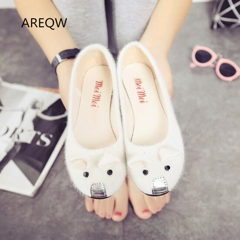 The new four seasons cute students Peas shoes slippery casual suede wild shoes popular shoes<br><br>Aliexpress