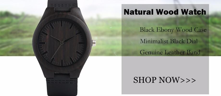 ธรรมชาติไม้นาฬิกาแฮนด์ 1