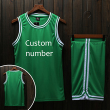 Men's Cheap Throwback Basketball Jerseys Youth Blank Basketball Uniforms Breathable Football Training Sports Jerseys(China)