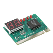 2016 New Arrival PC diagnostic 2-digit pci card motherboard tester analyzer post code for computer PC Newest Hot