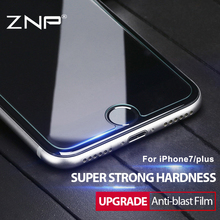 ZNP Soft Film Protective Tempered Glass For iPhone 7 6 6s 5 5s 4 Plus For Samsung Galaxy S7 S4 S5 S6 Note 3 4 5 Screen Protector
