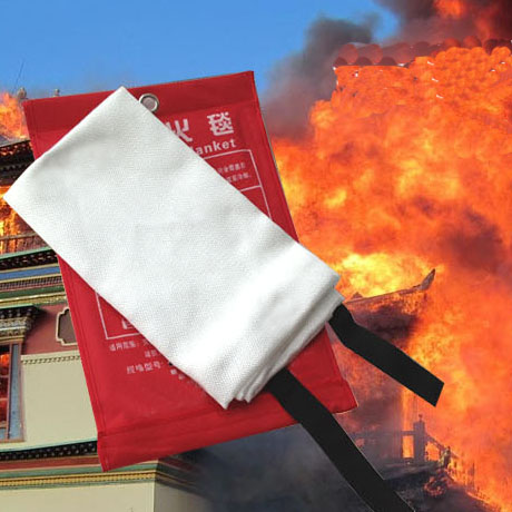 Glass fiber fire blanket outdoor survival<br>