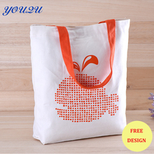 canvas totes shopping bag canvas white canvas bags   printing own logo escrow accept