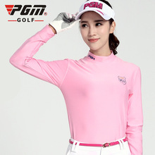 2017 New Women's  Winter  Golf Clothing  Long Sleeve Shirt Underwear Shirt Wholesale