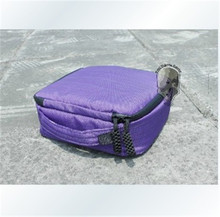 F08177 2pcs Camera Space 20*20*7 Weather Resistant Soft Case Storage Bag for Gopro Hero 3+ 3 2 Color Purple+ FreePost