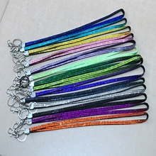 new arrival Rhinestone Bling Crystal Custom Neck Lanyard ID Badge Cell Phone and Key Holder Hot Selling