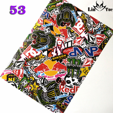 053# diamond monster red vp graffiti film Skateboard Luggage Suitcases Guitar Car Bike Laptop Vinyl PVC Waterproof sticker decal