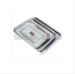 free shipping 40X60cm stainless steel medical use tray<br>