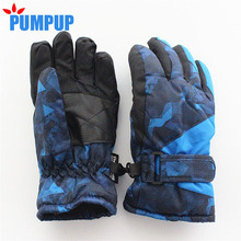2016 Winter Children Ski Snowboard Gloves Waterproof Windproof Thermal Snow Mittens Boys Girls Kids Sports Mittens Whole Sale