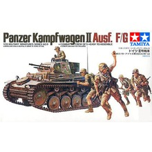 OHS Tamiya 35009 1/35 German Panzer Kampfwagen II Ausf F/G Military Assembly AFV Model Building Kits