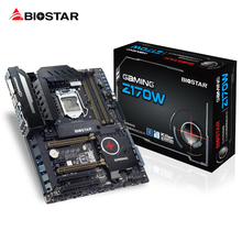 BIOSTAR GAMING Z170W 1151 Motherboard DDR4 3200 2133 1866 64G Support Core i7 i5 i3 Pentium Z170 Desktop Computer Motherboard(China)