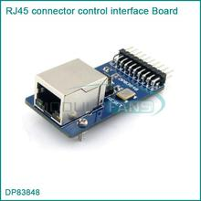 DP83848 Ethernet Physical Transceiver RJ45 contor control interface Board Kit