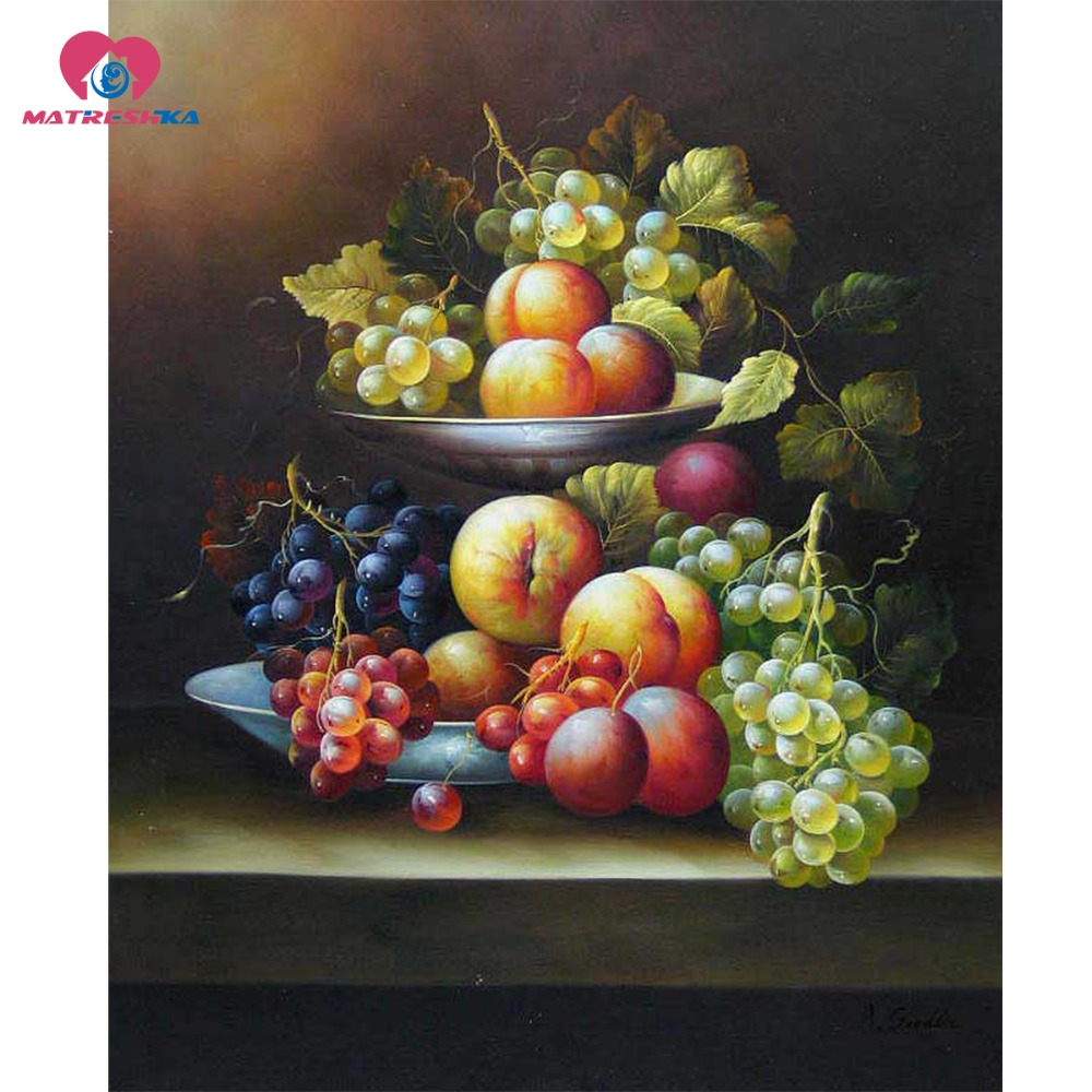 Diamond Embroidery Wine Grape Fruit Pictures Picture Of Rhinestones Sequins  Embroidery Art Rhinestones Pictures Of Diamonds