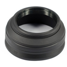 49mm - 77mm 62mm 3 Stage Collapsible Rubber Lens Hood for  Canon Nikon Sony Sigma Pentax Camera DSLR canon 100d hoya sj4000d7100