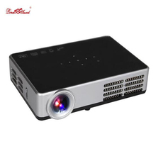 Cheap Digital Mini Projector wifi home Cinema LCD full hd tv led video Support 1080P proyector DLP beamer data show Poner Saund(China)