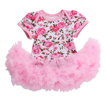 Baby rompers Christmas Costumes Infant Toddler Baby Girl Rompers Outfits Newborn Party Dress Jumpsuit Tutu Lace Dresses Birthday
