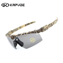 Kapvoe 3 Lens Sport Bike Cycling Glasses Bicycle Sunglasses Tactical Goggles, Army Sunglasses Cycling Eyewear(China)