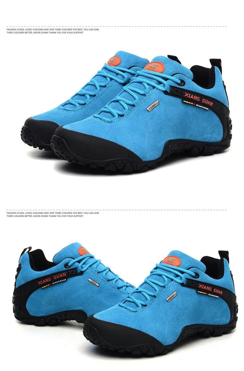 XIANG GUAN Winter Shoe Mens Sport Running Shoes Warm Outdoor Women Sneakers High Quality Zapatillas Waterproof Shoe81285 48