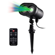 New Magic Prime Wireless Control Red, Green and Blue Laser Lights IP65 Alien Star Projector Valentine Wedding Party Christmas(China)