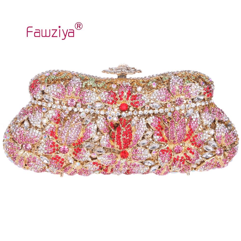 Fawziya Floral Beaded Purse Flower Clutch Purse Bling Crystal Clutch Evening Bag<br><br>Aliexpress