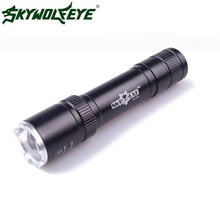 2017 Super Powerful 2500 Lumens Zoomable CREE Q5 LED 18650 Flashlight Torch Lamp(China)