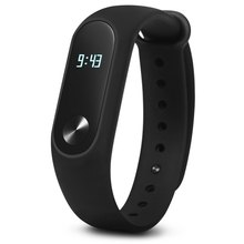2017 Xiaomi MiBand 2 Mi Band Smart Bracelet Fitness Wristband OLED Display Heart Rate Monitor IP67 Waterproof Bluetooth Watches - Rosegal Wach store