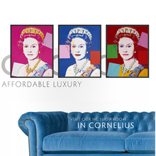 Modern art master Andy Warhol POP princess combination works 3 piece canvas art cuadros modernos Silk screen Portrait wall art(China)