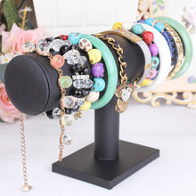 2017 new Leather Jewelry Rack Bracelet Necklace Stand Organizer Holder Display Black zip lock bag cloth bag suitcase organizer