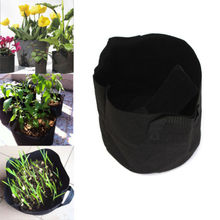 1PC Hot Sale!!!Round Fabric Pots Plant Pouch Root Container Grow Bag Aeration Pot Container