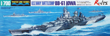 RealTS Tamiya #31616 - 1/700 US Navy Battleship BB-61 Iowa model kit