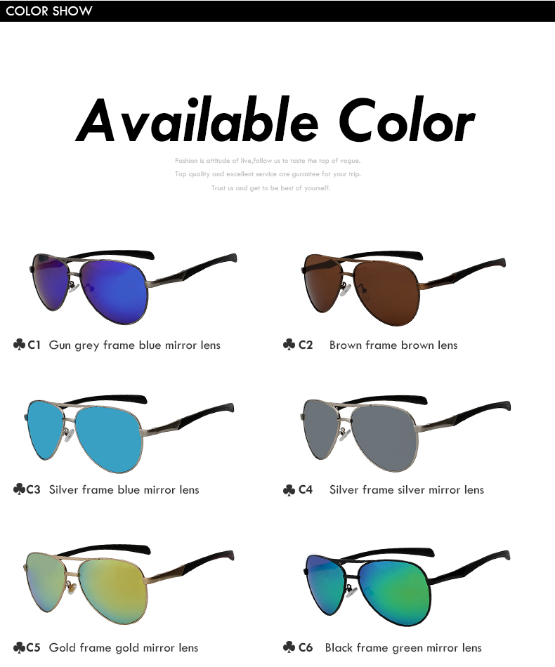 6 Colors Polarized Sunglasses Polaroid Goggle - Sun16*