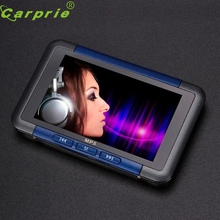 "Top Quality 8GB Slim MP3 MP4 MP5 Music Video Player With 4.3"" LCD Screen FM Radio Movie E-book Multi-languages Mar16"