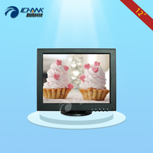 B120JNV-2/12 inch monitor/12 inch mini PC display/1024x768 VGA positive screen monitor/POS machine,Meal machine small monitor;