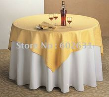 TC001,Table cloth for folding tables,Gold tab top layer,white bottom layer