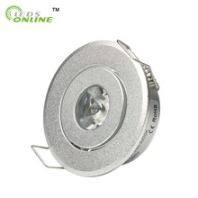 home store decor hot products 4pcs/lot  mini Led spot light Downlights cabinet lights 1W 3W Hole size 40-45mm 110-270LM