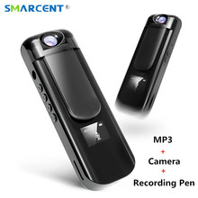SMARCENT IDV009 Mini Camera 180 Rotation MP3 Player Camera HD 1080P Micro Camera 700mAh Video Voice Recording Pen Camera MP3 SQ8